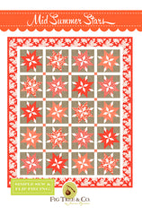 Mid Summer Stars Quilt Pattern by Fig Tree & Co.