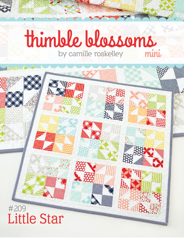 Little Star Mini Quilt Pattern by Thimble Blossoms