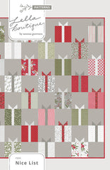 Nice List Quilt Pattern by Lella Boutique