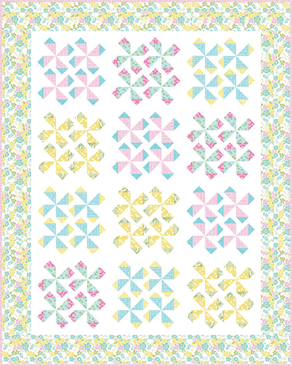 Parasol Quilt Pattern by It's Sew Emma