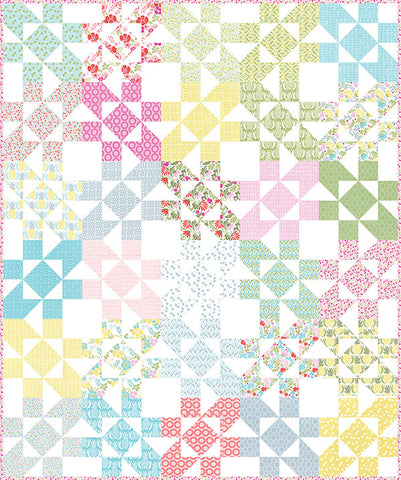 Parquet Quilt Pattern by Kate Spain