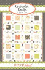 Patched Quilt Pattern by Corey Yoder of Coriander Quilts