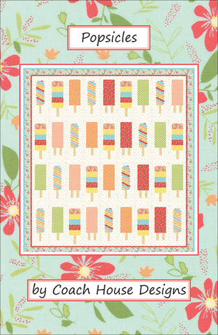 Popsicles Quilt Pattern by Coach House