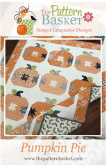 Pumpkin Pie Quilt Pattern by The Pattern Basket