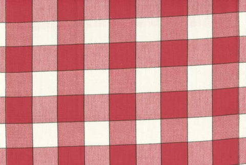 Toweling Basics Red Buffalo Check toweling yardage by Moda Fabrics