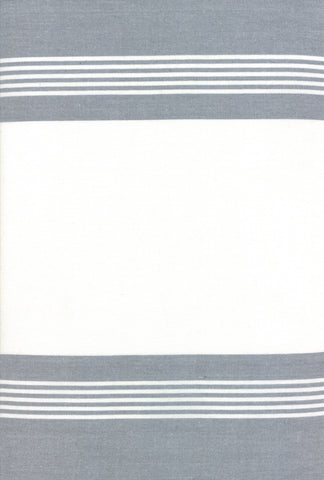 Rock Pool Toweling Grey Stripe yardage by Pieces to Treasure for Moda Fabrics