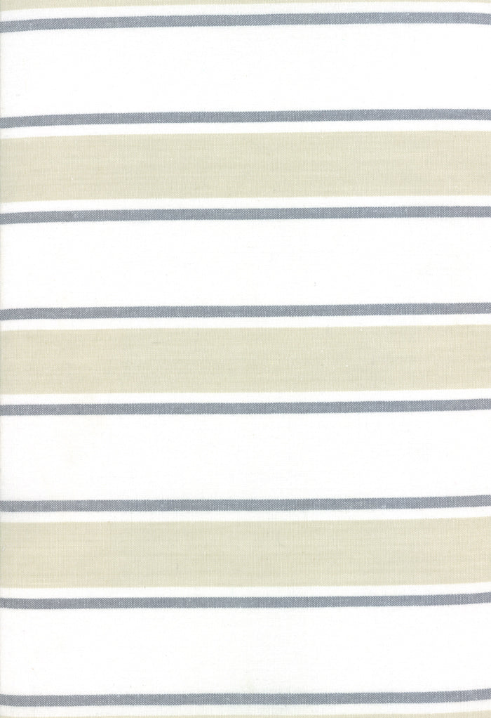 Rock Pool Toweling Sand Stripe yardage by Pieces to Treasure for Moda Fabrics