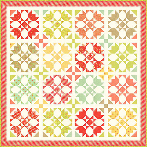 Rosehips Quilt Pattern by Fig Tree & Co.