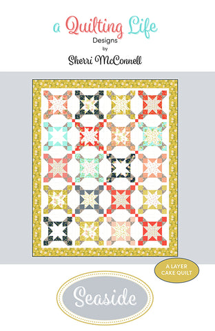 Seaside Quilt Pattern by Sherri McConnell of A Quilting Life Designs