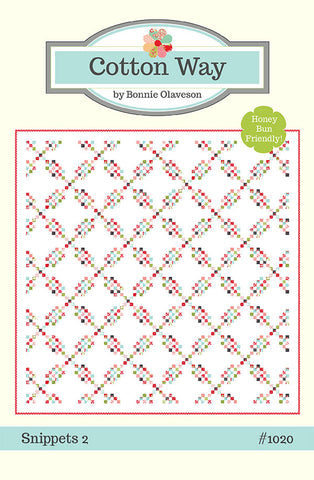 Snippets 2 Quilt Pattern by Cotton Way