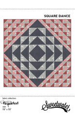 Square Dance Quilt Pattern by Sweetwater