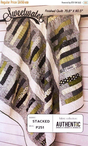 Stacked Quilt Pattern by Sweetwater
