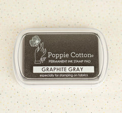 Stamp & Stitch Gray Ink Pad by Poppie Cotton