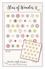 Star Of Wonder II Quilt Pattern by Brenda Riddle Designs
