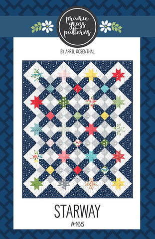 Starway Quilt Pattern by April Rosenthal for Prairie Grass Patterns