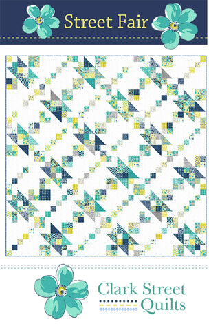 Street Fair Quilt Pattern by Clark Street Quilts