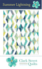 Summer Lightning Quilt Pattern by Clark Street Quilts