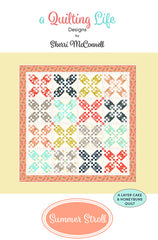 Summer Stroll Quilt Pattern by Sherri McConnell of A Quilting Life Designs