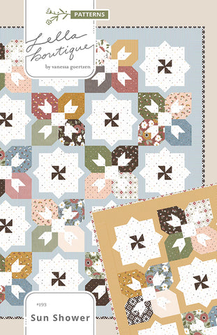 Sun Shower Quilt Pattern by Lella Boutique
