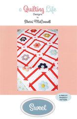Sweet Quilt Pattern by Sherri McConnell of A Quilting Life Designs