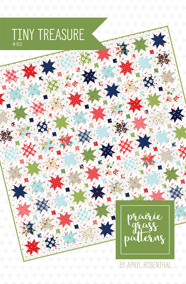 Tiny Treasure Quilt Pattern by April Rosenthal for Prairie Grass Patterns