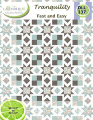 Tranquility Quilt Pattern by Designs By Lavender Lime