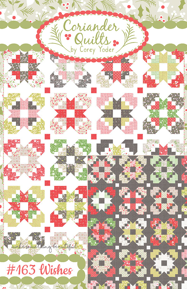 Wishes Quilt Pattern by Coriander Quilts