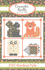 Woodland Frolic Quilt Pattern by Corey Yoder of Coriander Quilts