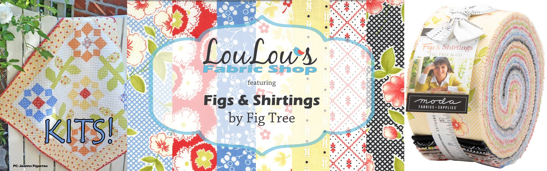 Figs & Shirtings Fabric Collection by Joanna Figueroa of Fig Tree Quilts