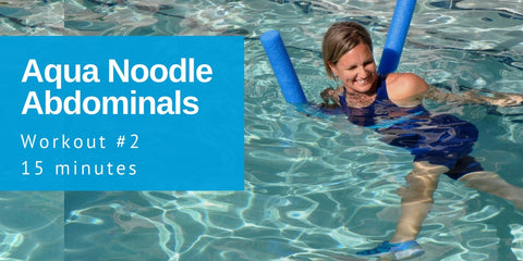 Audio Workout Aqua Noodle Abdominals