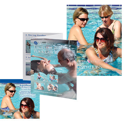 AquaStretch Manual, 2nd edition, Facilitator Pool Guide and DVD