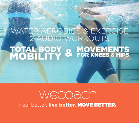 2 Water Workouts: Mobility and Knees & Hips (AUDIO CD)