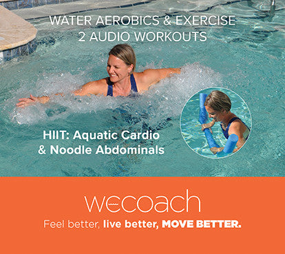2 Water Workouts: HIIT Aquatic Cardio & Noodle Abdominals (AUDIO CD)