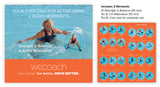 2 Water Workouts: Strength is Balance & Ai Chi Relaxation (AUDIO CD)