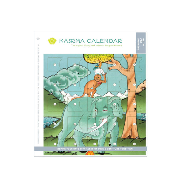 Maitri Karma Calendar for Partners