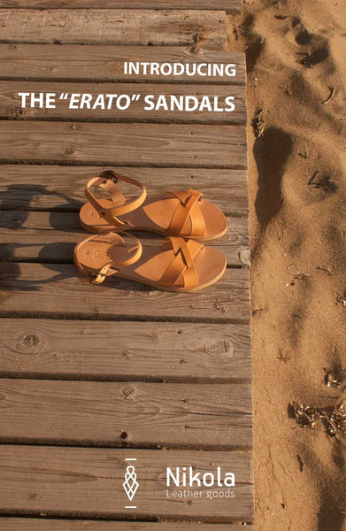 Design and creation of Erato sandals