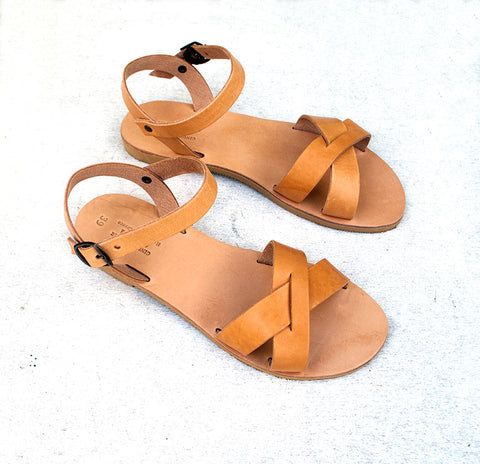 Erato sandals side view