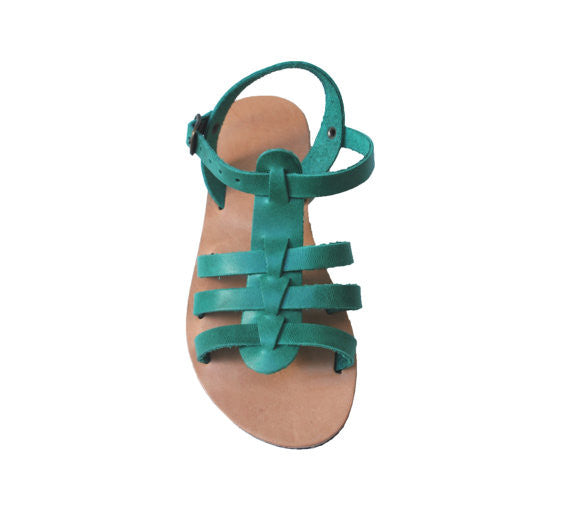 Children leather sandals