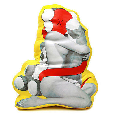 OriginalFake KAWS Clash Plush Cushion