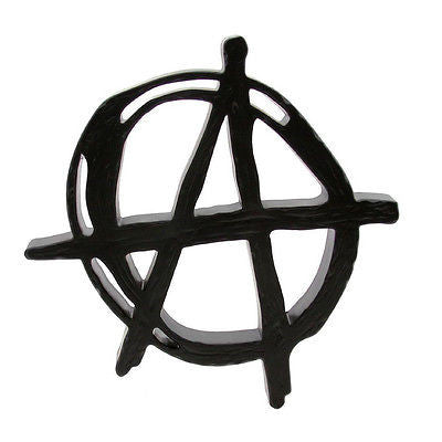 Frank Kozik Anarchy Trademark Black