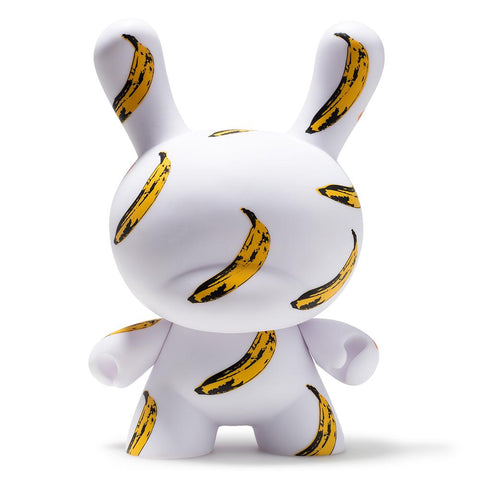"Banana Masterpiece 8"" Dunny by Andy Warhol"