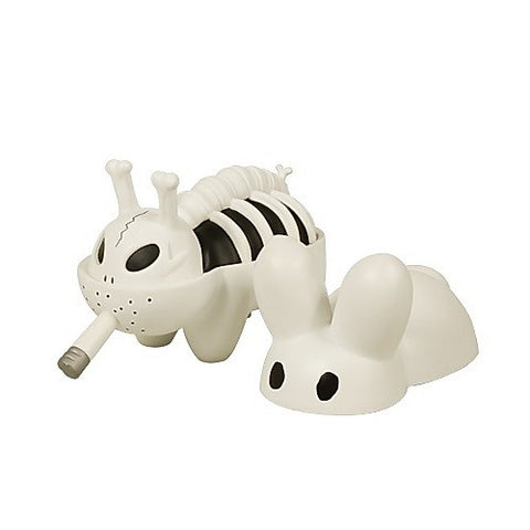 Black & White Smorkin' Bone Bunny by Frank Kozik