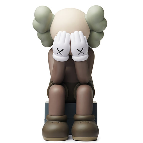 KAWS Passing Through Companion Brown Edition