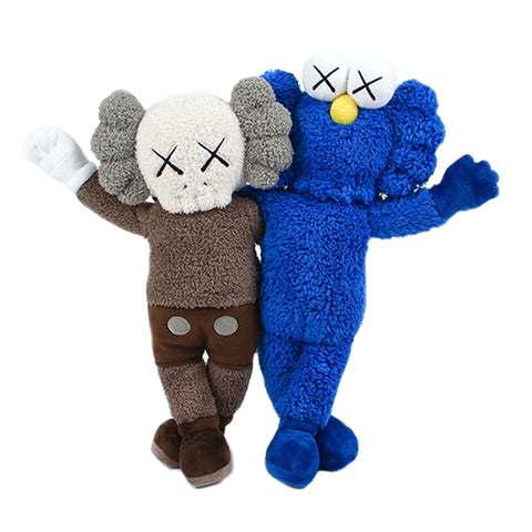 KAWS Seeing/Watching Grey/Blue Plush