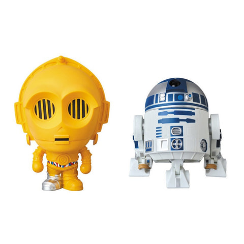 Star Wars x Bape C-3PO & R2-D2 VCD Figure Set
