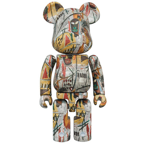 Jean-Michel Basquiat Super Alloyed 200% Bearbrick (PRE-ORDER)