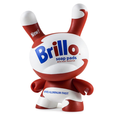 "White Brillo Masterpiece 8"" Dunny by Andy Warhol"