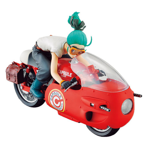 dragonball bulma desktop real mccoy red version motorcycle