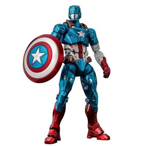 Marvel Fighting Armor Captain America Figure by Sentinel (PRE-ORDER)