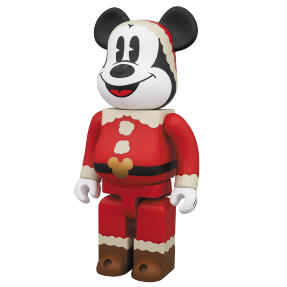 christmas party mickey mouse 400 bearbrick - Christmas Mickey Mouse